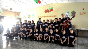 UP Choir at Hogar Guirola