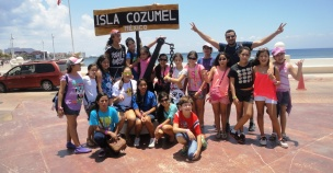 Arriving to Cozumel Island